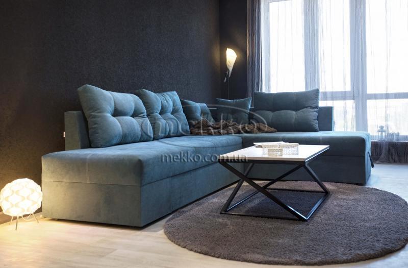 Кутовий диван з поворотним механізмом (Mercury) Меркурій ф-ка Мекко (Ортопедичний) - 3000*2150мм  Куп'янськ